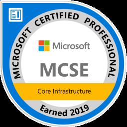 mcse-core-infrastructure-certified-2019
